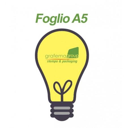 Volantini sagoma personalizzata A5