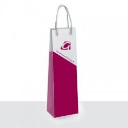 Shopper per bottiglia Formato 12x39x9 cm