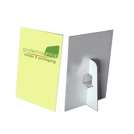Cartelli vetrina verticali e orizzontali personalizzati
