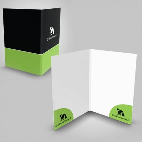 Stampa cartelline personalizzate e fustellate