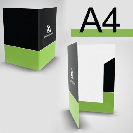 Cartelline stampate formato A4