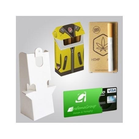 Buste per inviti, etichette sagomate, packaging personalizzato