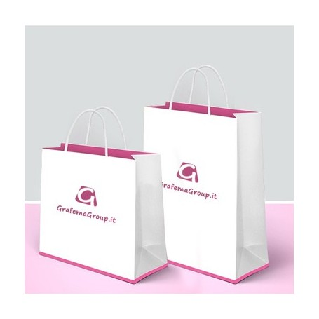 shopper in carta personalizzate